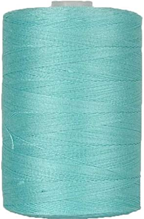 For Quilting Sewing and Serging 1000M Spools 50//3 Weight 50 Colors Available Threadart 100/% Cotton Thread Color LIME GREEN