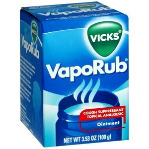 Special Pack of 5 VICKS VAPORUB 3.53 oz by Vicks