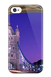 Case For Iphone 4/4s With Nice Tower Bridge London England Appearance