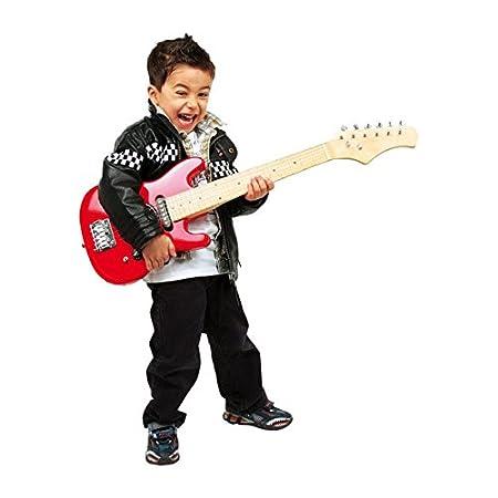 Small Foot Company 3302 - Guitarra eléctrica, color rojo [importado de Alemania]: Amazon.es: Juguetes y juegos