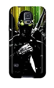 Cute Tpu ZippyDoritEduard Tom Clancy Case Cover For Galaxy S5