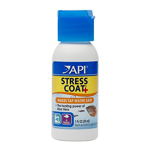 API Stress Coat Water Conditioner, 1-Ounce 1 Oz Aquarium