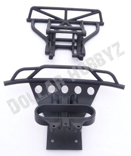 Traxxas 1/10 Slash 2WD * BUMPERS & SKID PLATE * Front & Rear 5804