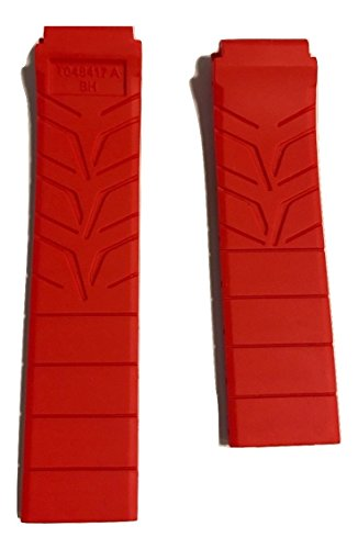 Tissot-Mens-T-Race-21mm-Red-Rubber-Strap-Band-for-Back-Case-T048417A