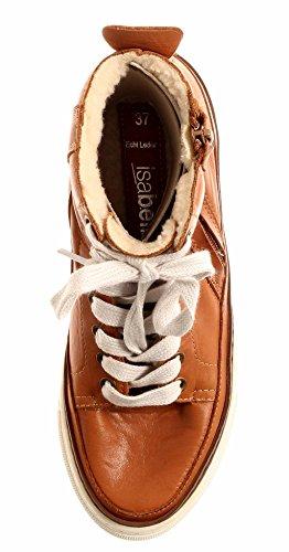 Cuir ISABELLE Cognac Chaud Femme Cognac Chaussures Chaussures 2725 en Baskets Montantes Winterbootie w0ZPrdZqx
