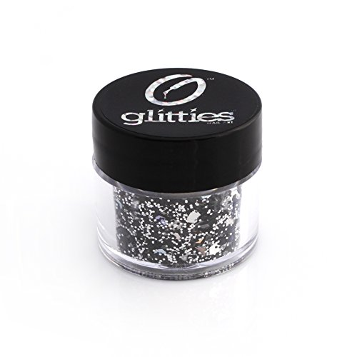 Rock n' Roll is a Glitter Like Never Before! Custom Mixed Blend of 5 Solvent Resistant Glitter Colors and Shapes - 10 Gram Jar - Made in the USA