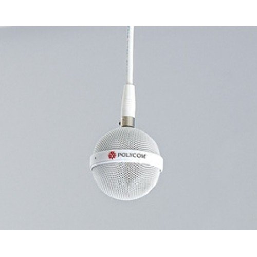 POLYCOM 2457-26765-072 Extended Length White Drop Cable for Spherical Ceiling Microphon 2457-26765-072_IMG1-500x500.jpg
