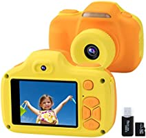 Joytrip Kids Camera for Boys Girls Gifts Selfie Digital HD Video Camcorder for Children 3-12 Years Old Mini Shockproof...
