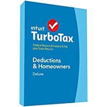 TurboTax Deluxe 2014 Fed + State + Fed Efile Tax Software [Old Version]
