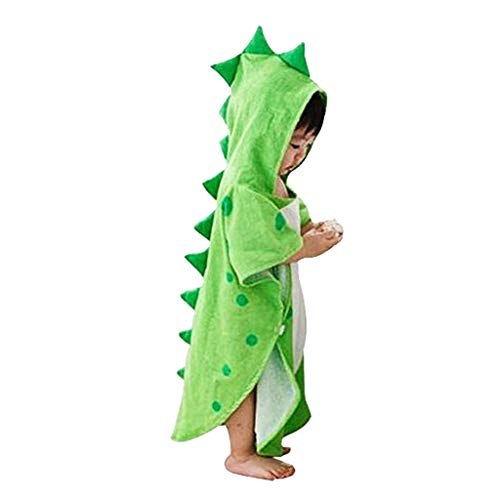 Toddlers Kids Shark Cotton Hooded Poncho Bath/Beach Towel Coverup Bath...