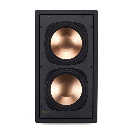 Klipsch RW-5802 II IW SUB In-Wall Speaker - White (Each) by Klipsch