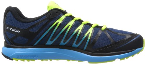 Salomon Running Shoes X-Tour Midnight Blue Black Boss Blue Azul Marino/Amarillo