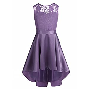 iEFiEL Kids Girls Adorable Pajama Dress Animal Star Rainbow Printed Nightdress Sleepwear Nightie