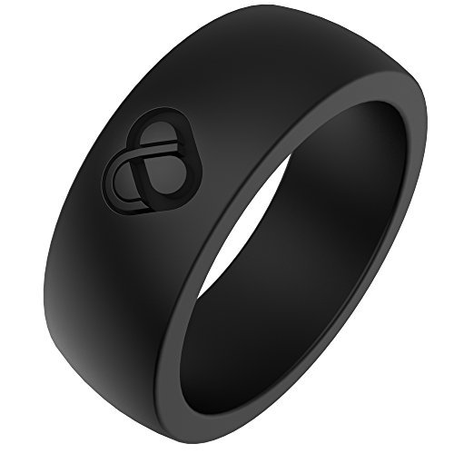 Silicone Wedding Band By LINK | Premium Silicone Rings With Unique Design For Athletes And Workers