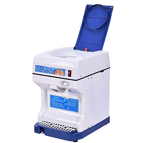 Electric Ice Shaver Crusher Machine 250W Shaved Ice Snow Cone Icy Slushies Frozen Drinks Jelly Belly Maker High Speed And Efficient Premium Polycarbonate Blade Personal Or Commercial Use