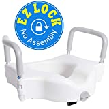 Best Handicap Toilet Seat With Handles For Seniors And