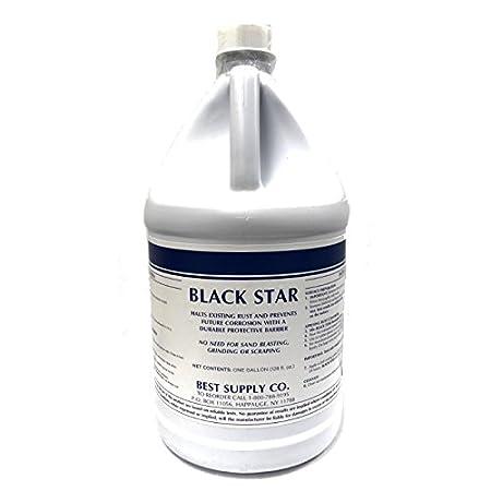 1 Quart Converts Rust on Any Steel Surface MRO Chem Black Star Rust Converter