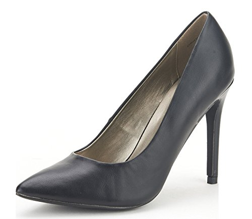 DREAM PAIRS CHRISTIAN Women's Classic Fashion Pointed Toe High Heel Dress Pumps New Black Size