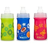 3 Pk, BRITA 13 Oz Soft-Squeeze Bottle Water Filtration System for Kids