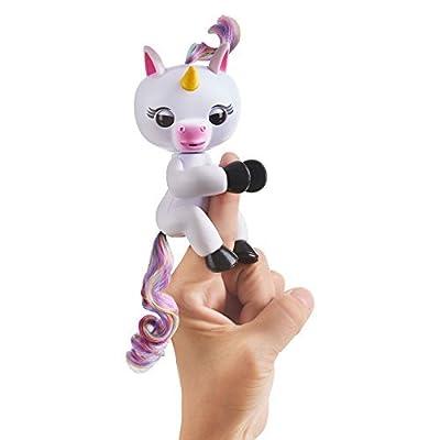 Fingerlings Interactive Baby Unicorn Puppet-Gigi(White) from Fingerline