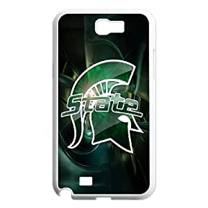 Classic Case Michigan State Spartans pattern design For Samsung Galaxy Note 2 N7100 Phone Case