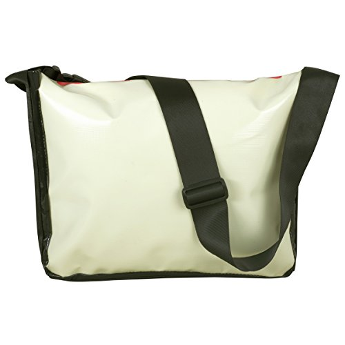 Unisign - Borsa a tracolla in tela cerata - messenger bag / borsa postino
