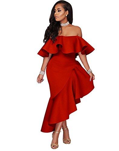 Palabra De Loto Collar Vestido Hoja Red Pw AzdqwA
