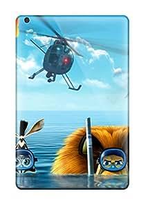 Richard V. Leslie's Shop 6091693I93051604 Ipad Mini Madagascar 3 2012 Movie Tpu Silicone Gel Case Cover. Fits Ipad Mini