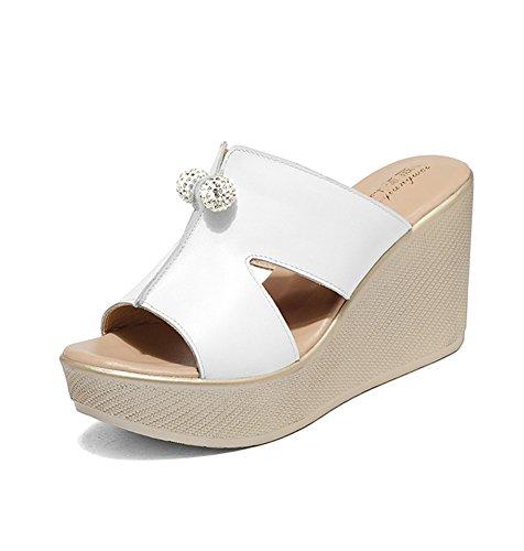 Tuoup Parent Women's Leather Fashion Sandles Wedge Sandals B07BHMDJVJ Parent Tuoup 6a15a4