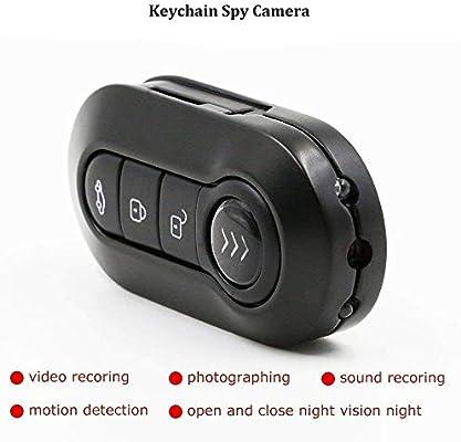 CYHT Mini cámara espía Oculta, Llavero 1080P con cámara de ...