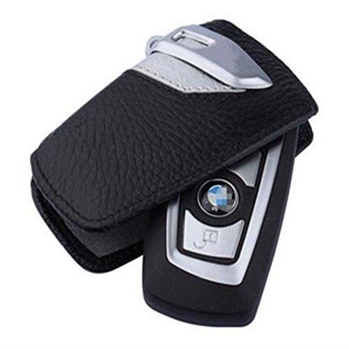SZMWL Sport Line Key Case FOB Holder Fits BMW 2 3 5Series X3(Silver)