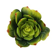 Generic Artificial Succulent Snow Lotus Floral Foliage Fake Plant Home Party Decor