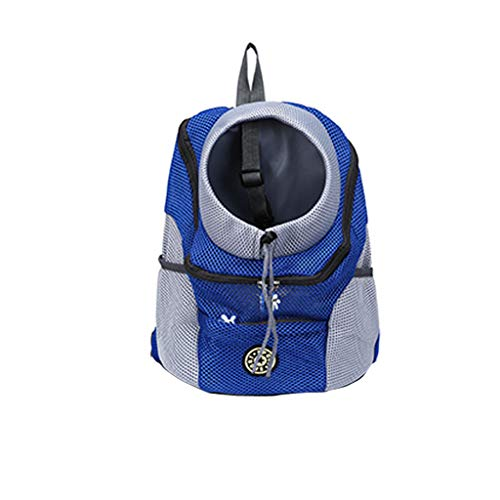 - Transser Soft-Sided Pet Carrier Backpack for Small Dogs and Cats Airline-Approved, Designed for Travel, Hiking, Walking & Outdoor Use (14.17×17.72×8.27inch, Blue)