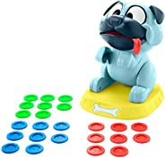 Mattel Games Puglicious Kids Game, Dog Treat-Stacking Challenge with Hungry Puppy, Gift for Kids 5 Years &