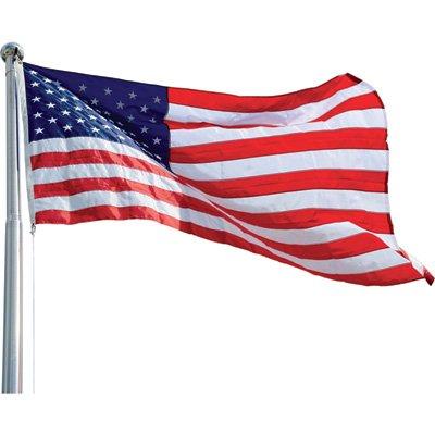 Vestil United States Flag - Nylon, 8ft. W x 5ft. H, Model# AFL-30