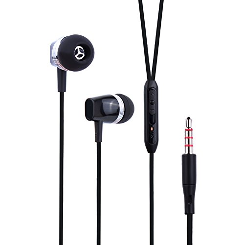 Mxstudio Wired Headphones Built Black