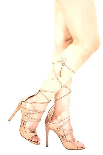 Lolli Couture Diamante Vernice Lettera Mary Jane Stile Cinturino Fibbia A Punta Smussata Piattaforma Stiletto Tacchi Mochapatent-m01-11