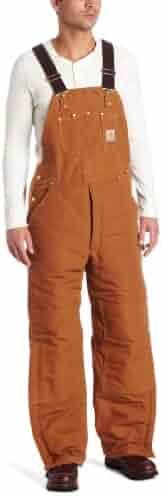 Carhartt Men's Arctic Quilt Lined Duck Bib Overalls R03
