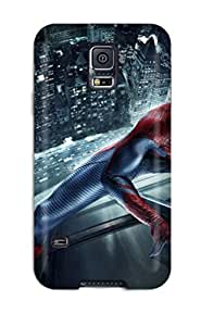 Hot Tpye Attractive The Amazing Spider Man Movie Case Cover For Galaxy S5