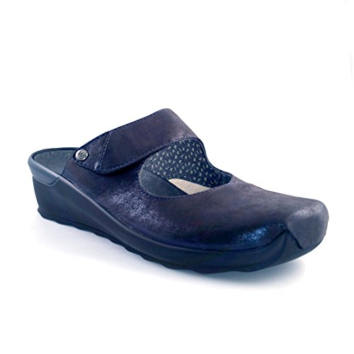 Wolky Womens Up Clog Blue yx3qBou
