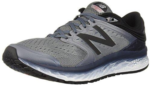 New Balance Men's 1080v8 Fresh Foam Running Shoe, Black/White, 13 4E US