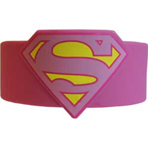[Licenses Products DC Comics Originals Supergirl Wristband] (Supergirl Costumes Pink)