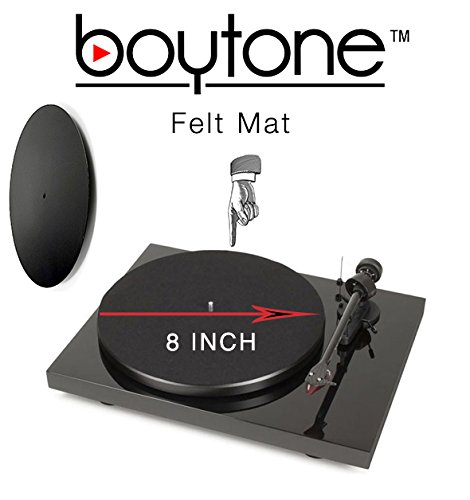 The Boytone Turntable Anti Static Felt Mat Is Designed For
