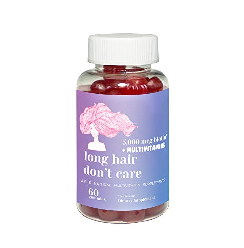 Hair Growth Vitamins Gummies with High Potency Biotin 5000 mcg, Vitamin A, Vitamin C, Vitamin B, Vitamin D, Pantothenic…
