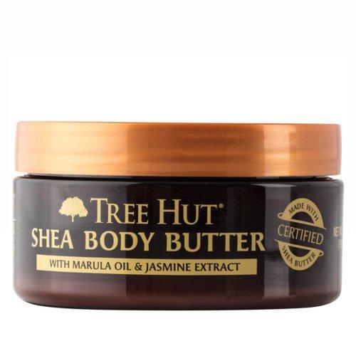 Tree Hut 24 Hour Intense Hydrating Shea Body Butter, Marula & Jasmine, 7 Ounce (Sensuous Body Moisturizer)