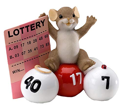(Charming Tails Mouse Figurine (Take A Chance You Just Might Win))