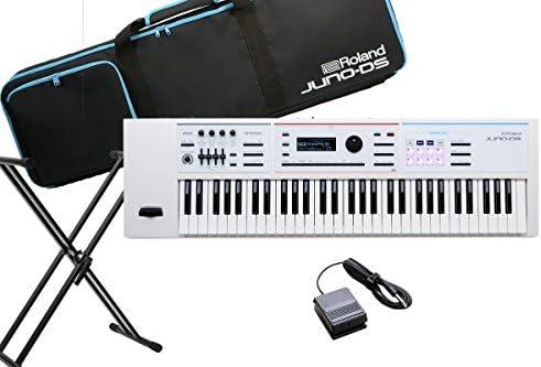 Roland ローランド / JUNO-DS61W シンセサイザー スタンド・ペダルセット