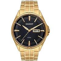 Relógio Orient Masculino Ref: Mgss2008 P1kx Casual Dourado