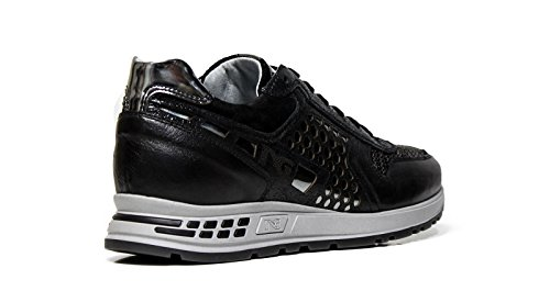 Nero Giardini Turnschuhe Frauen A616182D 100 Black Made in Italy Herbst Winter 2016 2017