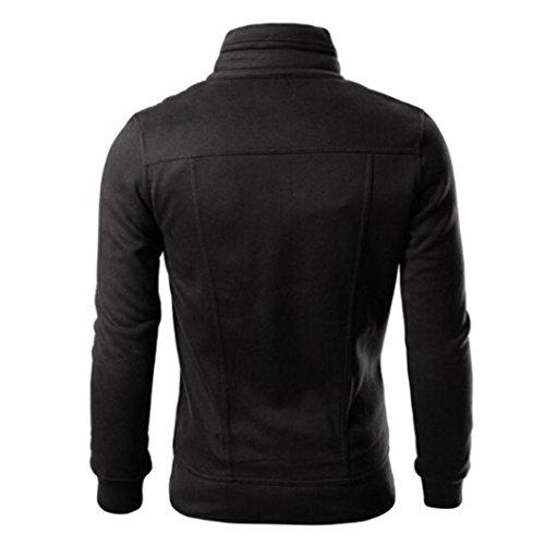 Xxl De Nouvelle Noir 2018 Mode Shobdw Longues Veste Hiver Homme Manches Automne Printemps Design Manteau Top xB1Fq7w